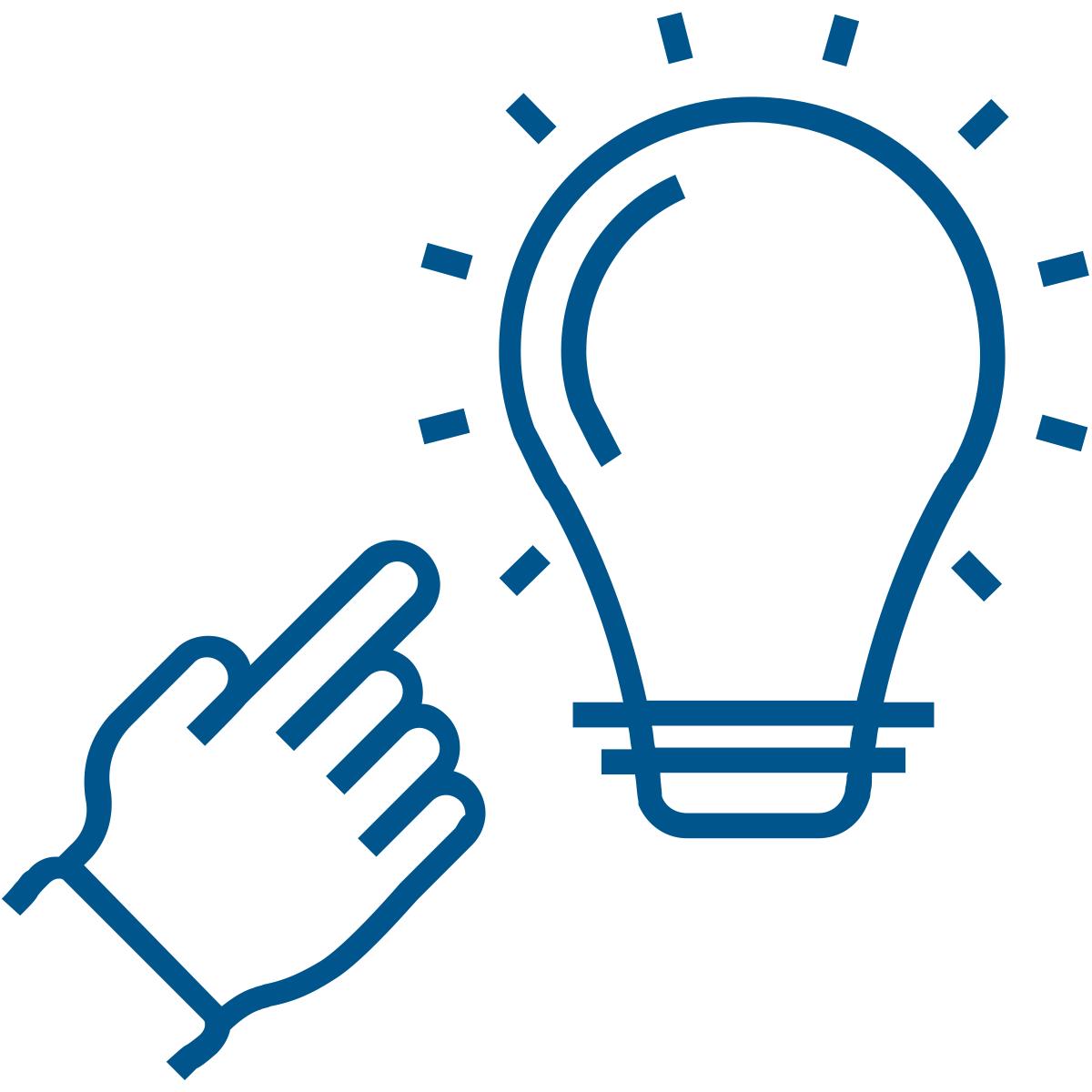 Prismatic Services Inc. blue-lightbulb